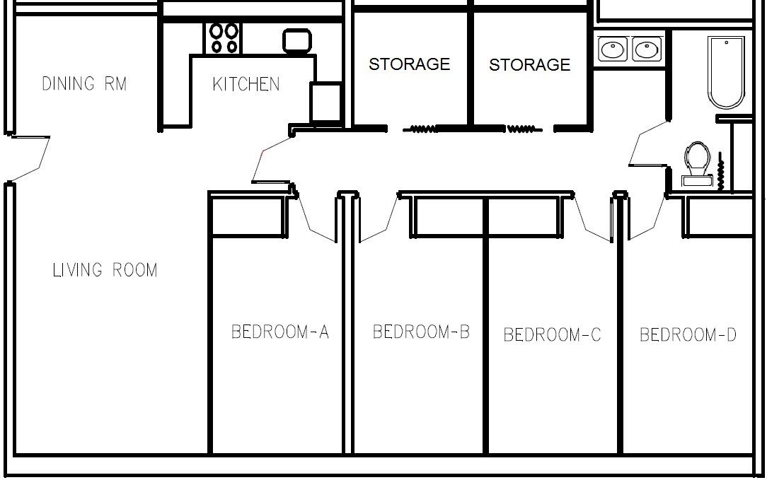 Livingston Apartments Rutgers Floor Plan Apartment